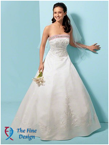 Alfred Angelo, Brand New Wedding Dress, Style # 1612, Size 12, Color ...